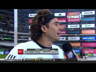 """Ochoa y la clasificación a rusia """"el día de hoy es para que la gente disfrute de su mundial"""""""