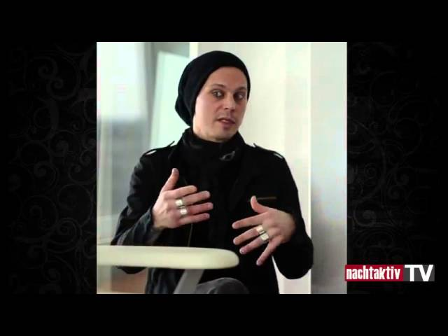 22 04 2013 Ville Valo HIM Interview @ Nachtaktiv TV Berlin