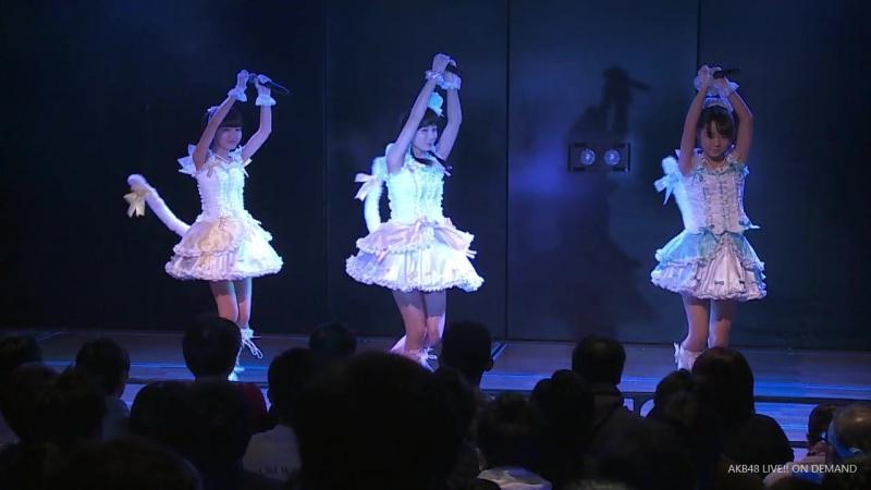 OP Tenshi no Shippo Ayu Yamabe Kira Takahashi Rei Nishikawa AKB48 B7 261215 Shonichi
