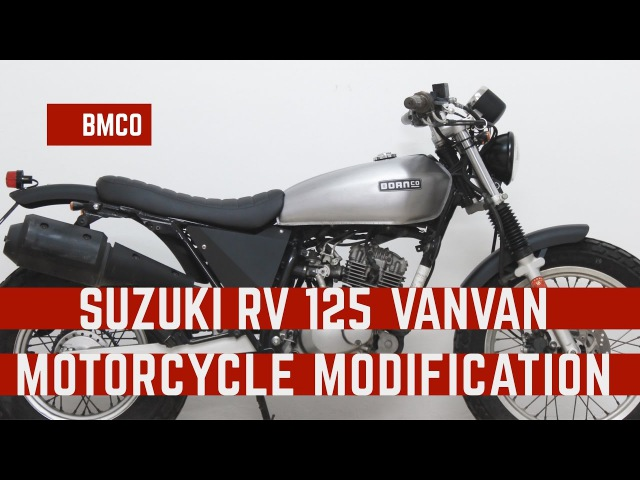 Born Beach 125 Suzuki RV125 Vanvan motorcycle modification 04