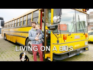 School Bus Conversion | Rebuilt as hostel for living on the road