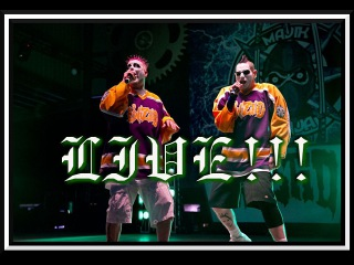 Twiztid-The Continuous Evilution of Life's ?'s ~ CD RELEASE PARTY ~ Hollywood, CA 1/27/17