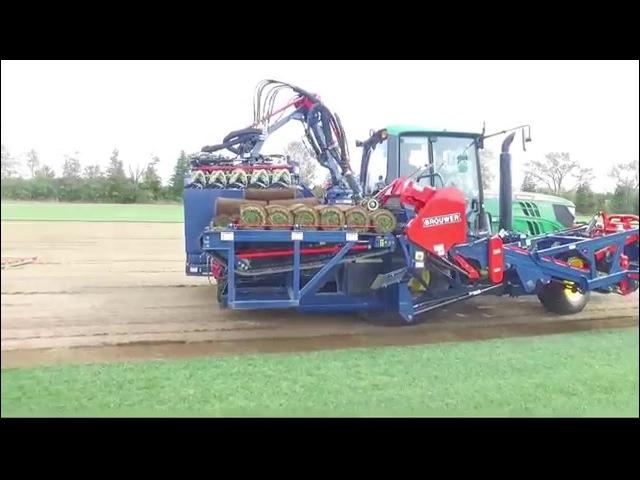 Brouwer RoboMax JD Sod Harvester