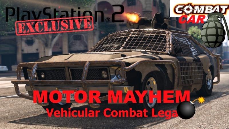 Motor Mayhem Vehicular Combat League КЛОН TWISTED METAL pcsx 2 1 5 0 DX 11 Fps 60 HD 720 p