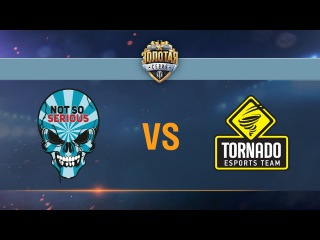 Tornado Energy vs Not So Serious - day 3 week 7 Season II Gold Series WGL RU 2016/17