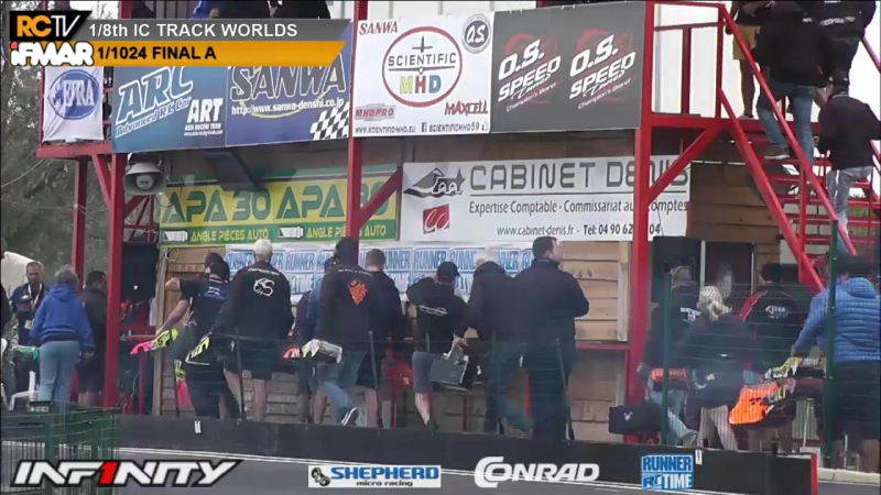 IFMAR 1 8th IC Worlds 2017 Friday