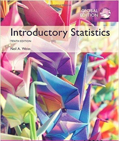 Introductory Statistics, 10th Global Edition