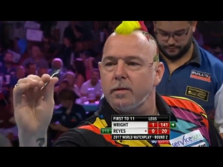 Peter Wright vs Cristo Reyes (PDC World Matchplay 2017 / Round 2)