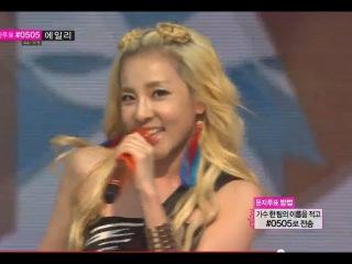  Выступление  2NE1 - FALLING IN LOVE @MBC Music Core.