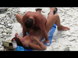 Great beach voyeur fuck scene