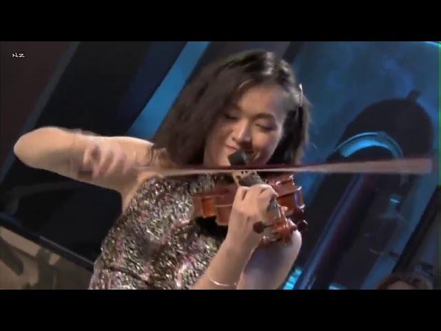 Соло скрипка, арфа, труба и оркестр