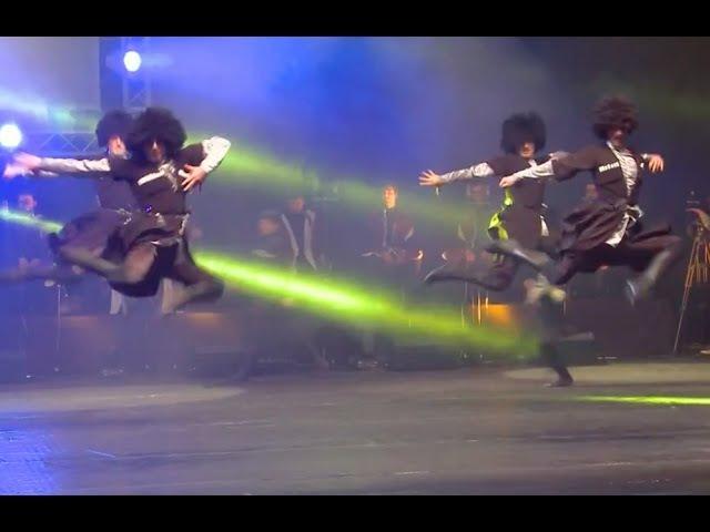 ансамбль Грузии СЭУ - грузинский танец Кавкасиури