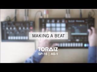Making a beat with Kiko Navarro on the TORAIZ SP-16 and AS-1