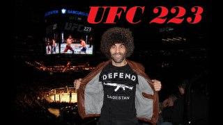 Идём на бой Хабиба и Забита. UFC 223. Как люди шли болеть за наших земляков
