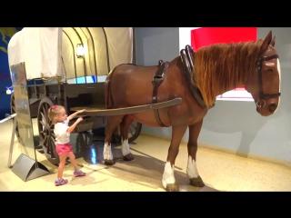 Детский музей науки Развлечения для детей Развивающее видео Childrens Museum Kids Pretend Play