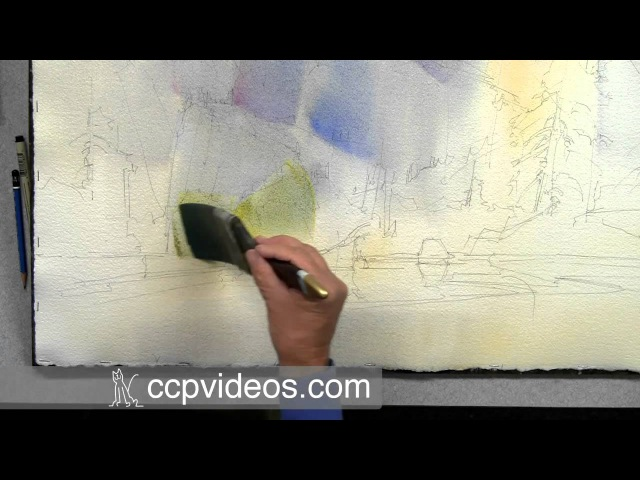 The Language of Landscape in Watercolor with Dale Laitinen