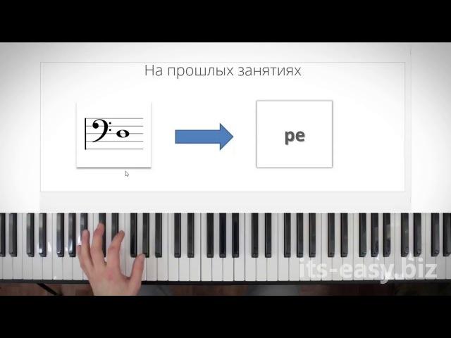 55 Самый быстрый способ читать ноты басового ключа на фортепиано