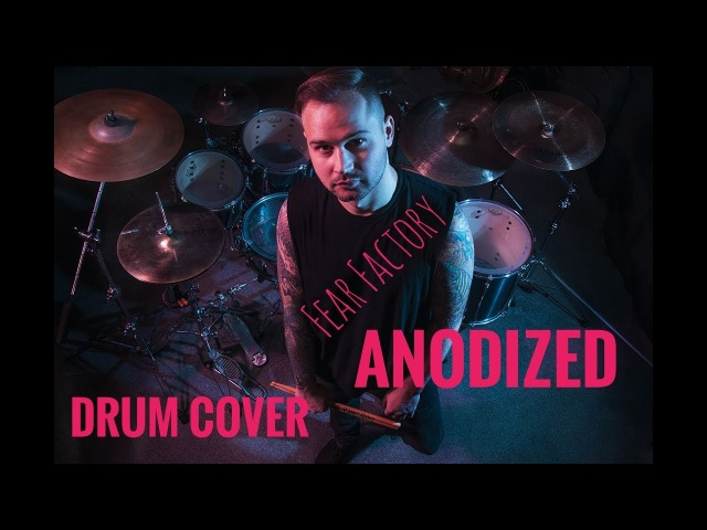 Fear Factory Anodized Drum Cover Pavel Mosin