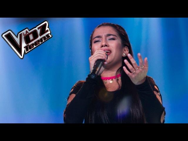 Jennifer canta 'La maldita primavera'   Recta final   La Voz Teens Colombia 2016