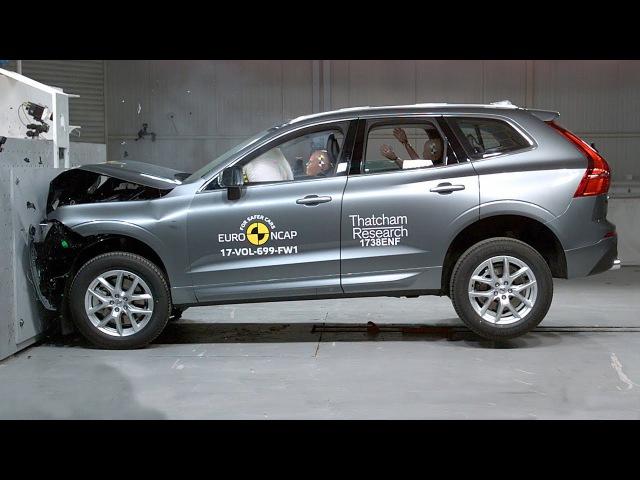Volvo XC60 2020 The Safest SUV Crash Test