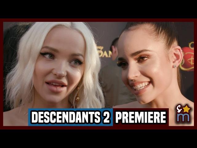 DESCENDANTS 2 Premiere Interviews Dove Cameron, Sofia Carson, China Anne McClain   Shine On Media