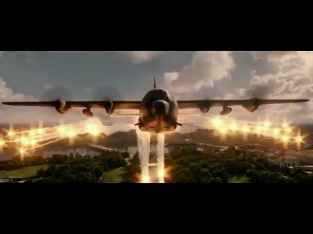 Киргизские летчики бомбят Вашингтон