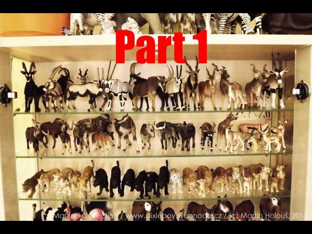 MartinH Collection Schleich Papo Safari Ltd CollectA Mojo Bullyland part 1