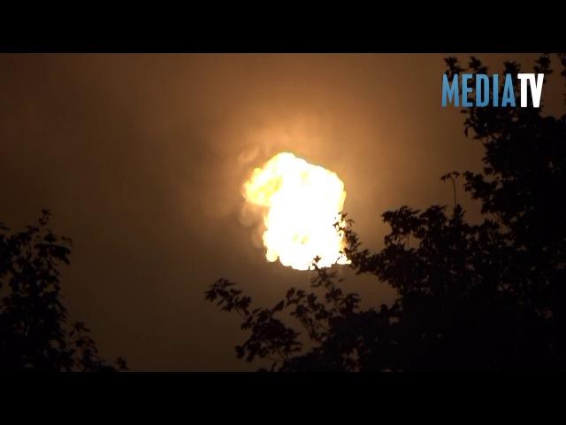 Raffinaderij Shell Pernis stilgelegd na explosie en brand