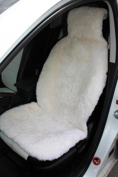 Комплект меховых накидок на сиденье авто