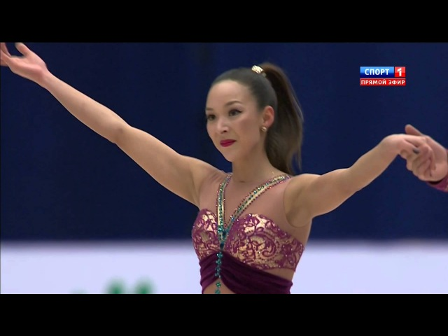 2015 Cup of China SP Mari VARTMANN Ruben BLOMMAERT