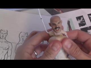 Juliana lepine sculptures. фредди меркури. процесс.