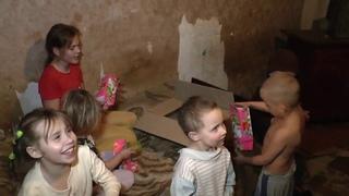 Поздравление деток со св. Николаем от Ирины и друзей из Донецка