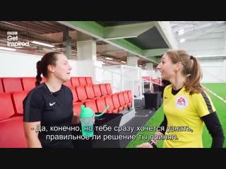Microsoft game dvr football refereeing_ premier leagues sian massey-ellis puts aspiring referee through her paces bbc sport