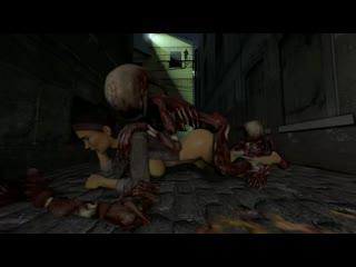 Аликс вэнс и зомби alyx vance half-life 2 zombie sex секс