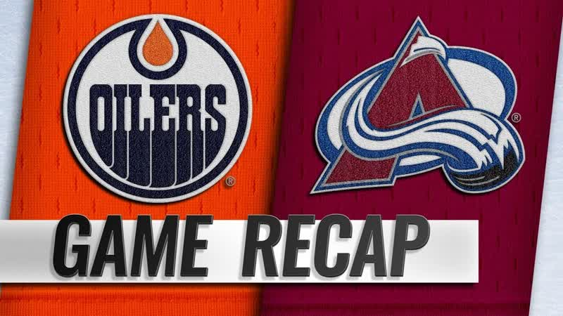 НХЛ - регулярный чемпионат. «Колорадо Эвеланш» - «Эдмонтон Ойлерз» - 6:2 (0:2, 4:0, 2:0)