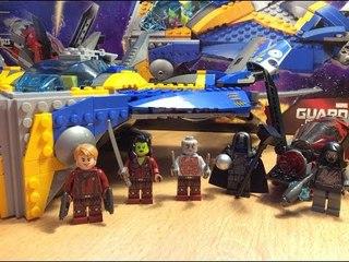 ОБЗОР ЛЕГО ШЕДЕВРА - КОРАБЛЯ МИЛАНО / LEGO GUARDIANS OF THE GALAXY 76021 THE MILANO SPACESHIP RESCUE