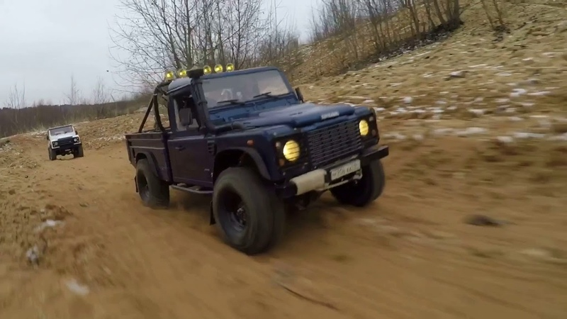 Scale rc advertisers rc land rover defender 90 and rc defender 110 hcpu