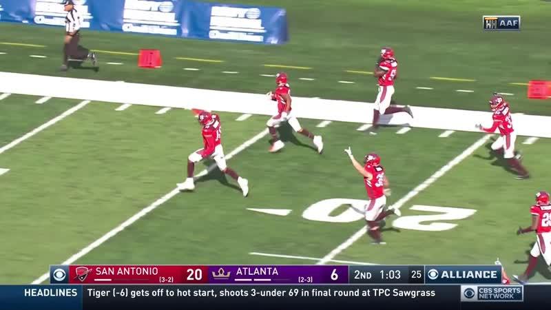 ААФ-2019, 6-й тур. Атланта – Сан-Антонио