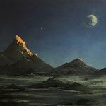 """Луна в горах"" (в аукционе)"