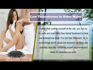 Herbal treatment to treat effect of low testosterone in older males