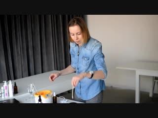 Как сделать массажную свечу от простуды своими руками  DIY Cosmetics