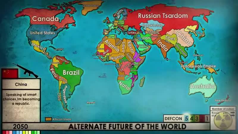 Alternate future of the World THE MOVIE fan iat karta п prorok ist 2016 2038 2081 vvv scscscrp