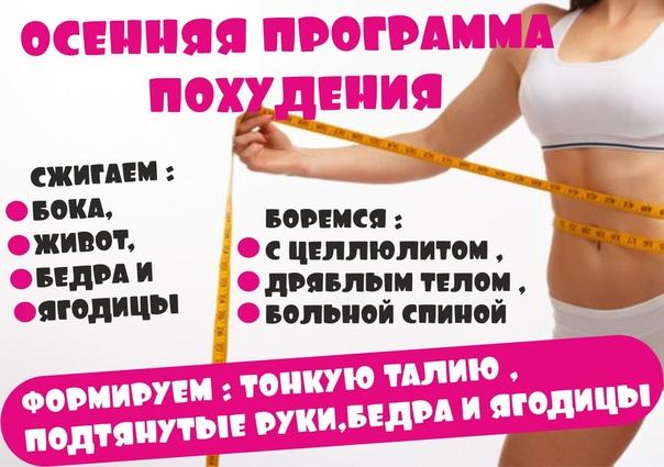 Программы похудения белгород