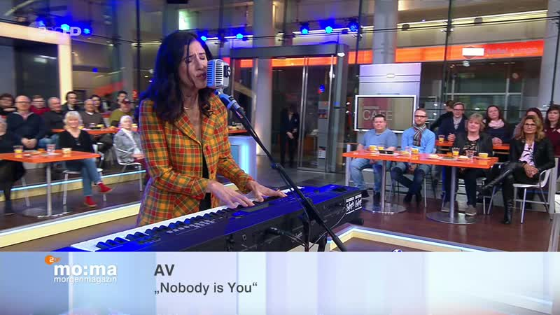 Ann Vriend Nobody is You All That I Can ZDF Morgenmagazin 2019 01 30