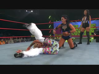 Tessa blanchard  vs. taya valkyrie ( gail kim as special guest referee)