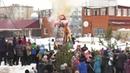 В последний день масленичной недели шадринцы в городском саду дружно проводили зиму