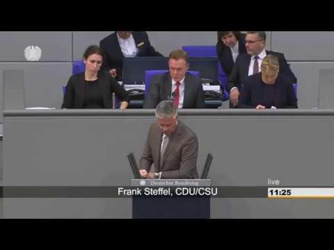 CDU Betrüger (ihm wurde der Dr. Titel aberkannt) wettert gegen die AfD im Bundestag