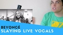 Voice Teacher Reacts to Beyonce Slaying Live Vocals