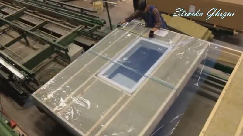Как Финны строят каркасные дома