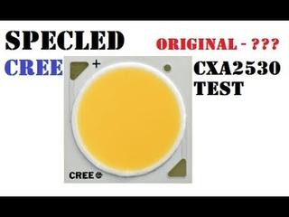 Определение подлинности Cree CXA2530 из Китая.  Измерение параметров CXA серии.